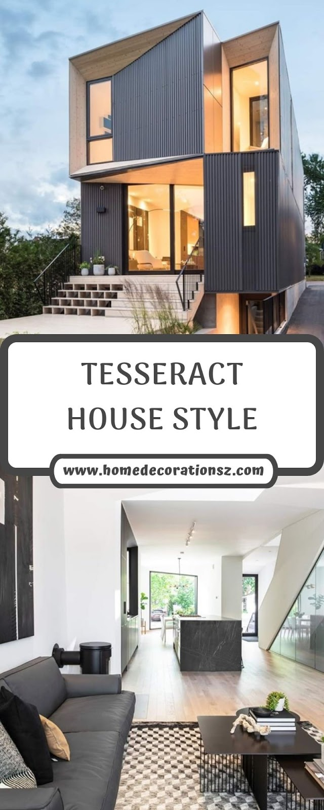 TESSERACT HOUSE STYLE