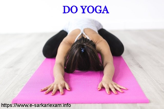 Do yoga and stay healthy. Food Catering - According to Age to Stay Healthy and Fit.