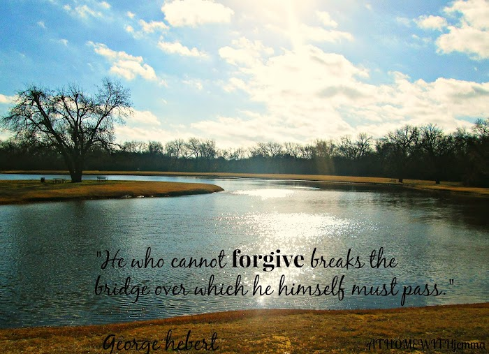 Inspirational Thursday- Forgiveness
