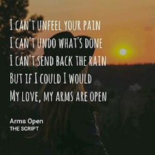 The Script Lyrics - Arms Open