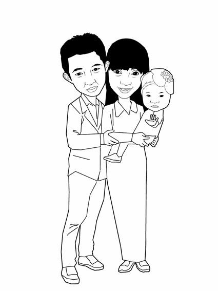 Mirzan Blog S 15 Trend Terbaru Gambar Kartun Ayah Dan Anak Hitam Putih