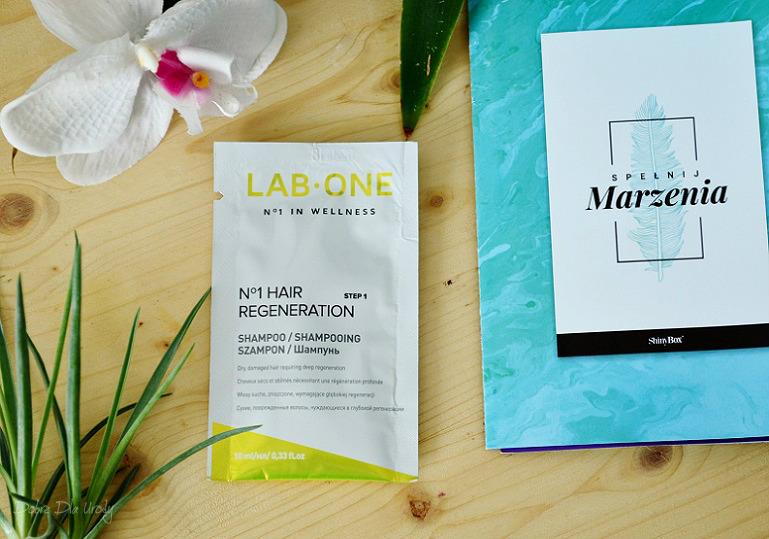 Lab ONE N°1 Regenerujący szampon do włosów step 1 - ShinyBox