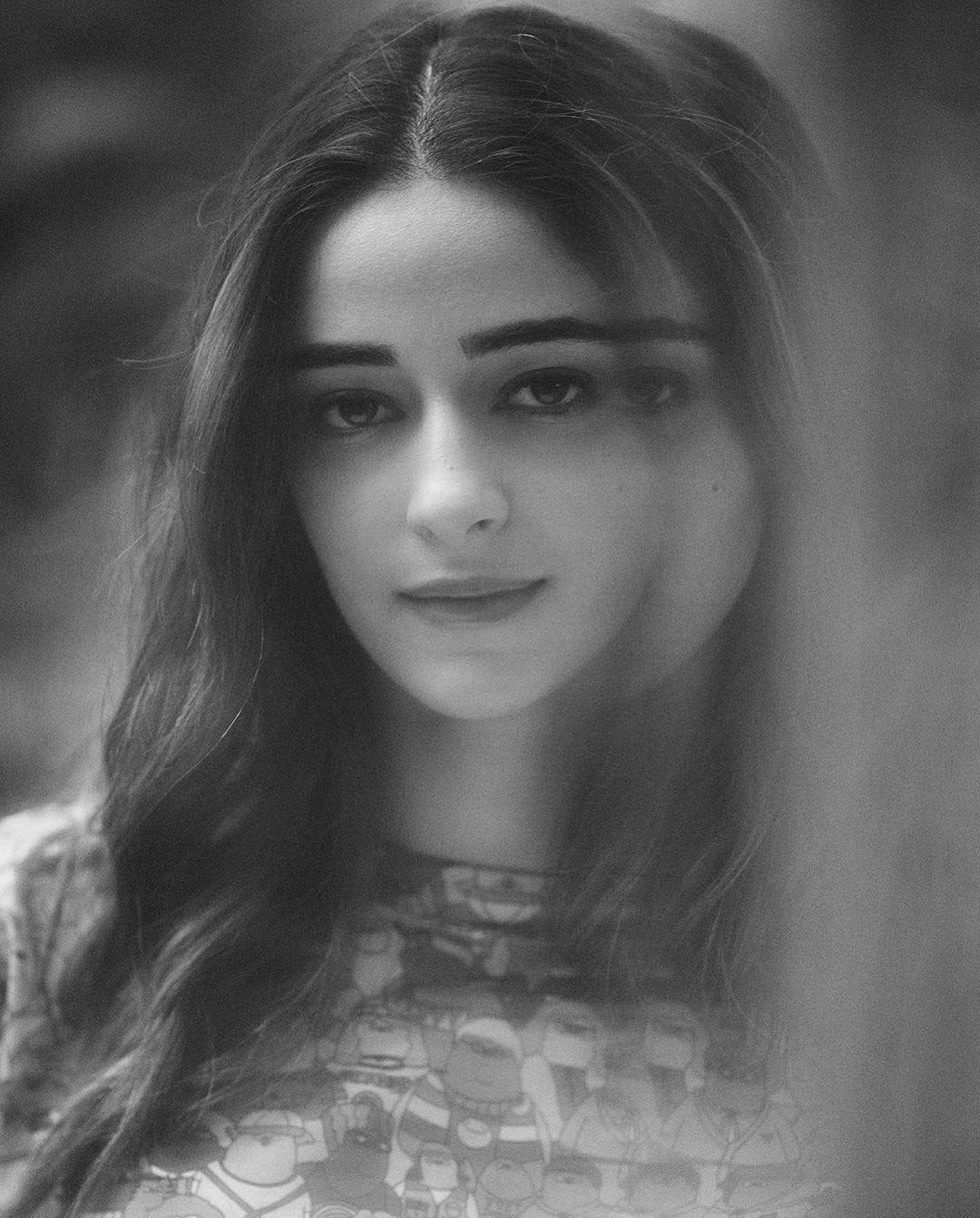 Ananya Panday Latest Black and White pics