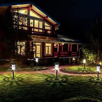 Solar Pathway Lights Outdoor Garden Lights
