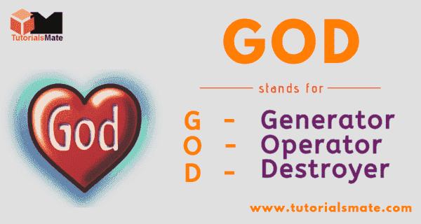GOD Full Form