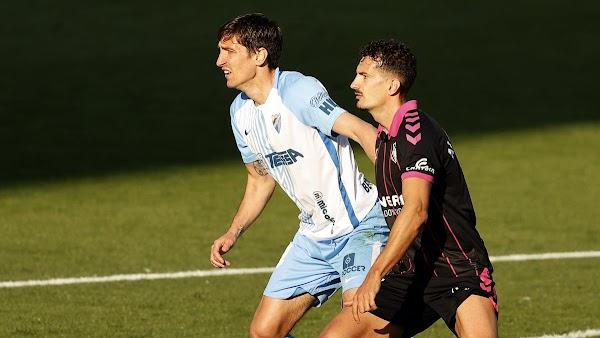 Scepovic se estrena con la camiseta del Málaga ante Las Palmas