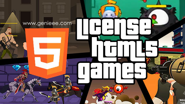 License HTML5 games‎