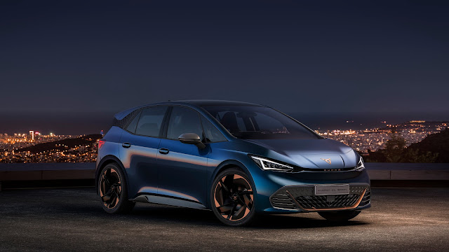 A new era is born for CUPRA: first all-electric vehicle is CUPRA el-Born