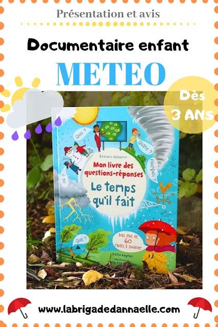 documentaire meteo pour enfant