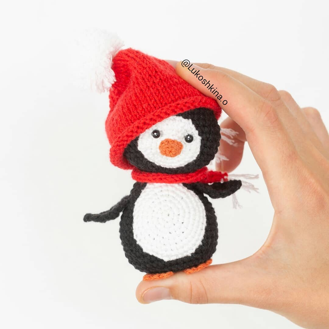 Crochet Penguin Amigurumi Free Patterns | 1080x1080