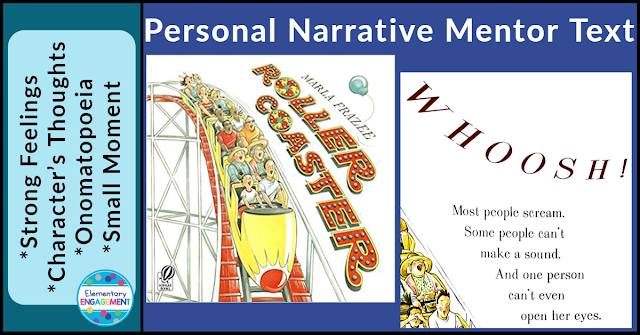 Roller Coaster is the perfect book to demonstrate how to write about a small moment.