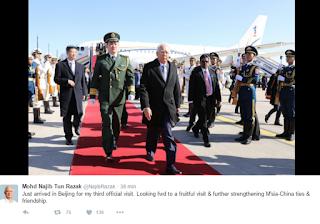 Najib Selamat Tiba di China