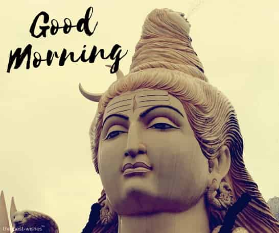 good morning god shiva images hd