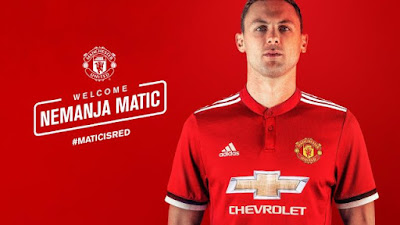 News Flash: Nemanja Matic Signs For Manchester United From Chelsea For £40m