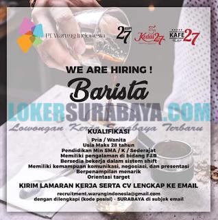 We Are Hiring at PT. Warung Indonesia Surabaya Terbaru Mei 2019