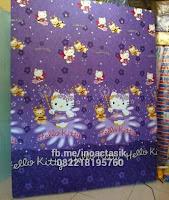 Kasur inoac motif hello kitty ungu inoactasik