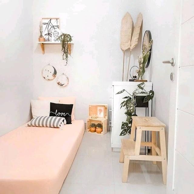 Desain Interior Kamar Tidur Ukuran 2×3 Sederhana Terbaru