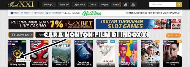 Cara Streaming Film di Indoxxi