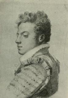 Prosper Valmore par Constant Desbordes - Vers 1818, 1820.