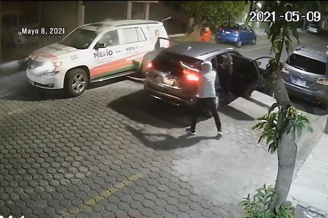 Video: Así fue como Sicarios se emparejaron y en segundos les dispararon a la altura del copiloto iban directamente a matar a Memo Valencia candidato presidencial en Morelia