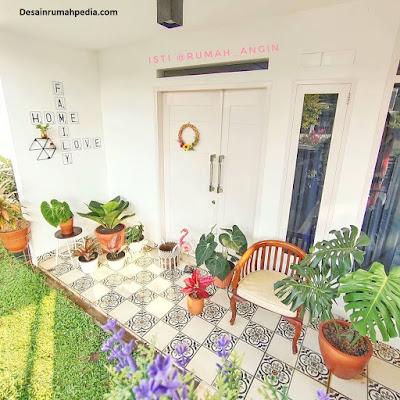 6 model teras rumah 2 lantai minimalis paling trend