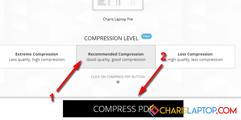 cara compress pdf to 200kb online