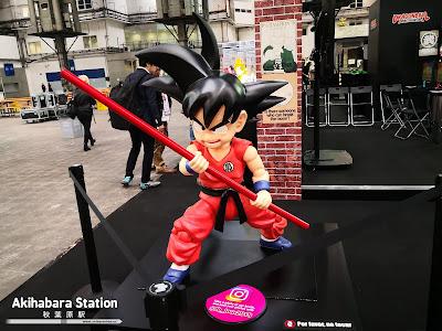 Tamashii Nations en el 25 Manga Barcelona / Dragon Ball World Adventure.