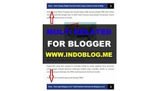 Cara Membuat Related Post Ringan dan SEO Respone di Blogger