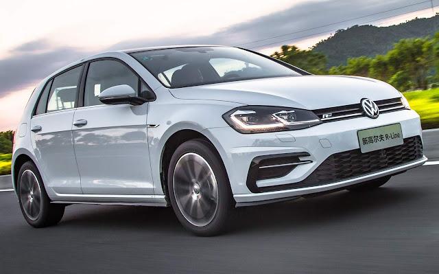 VW Golf 280 TSI R-Line 2019
