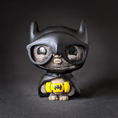 Batwok and the Kid-Wonder GeekWok Star Wars x DC Comics Resin Figure Set by UME Toys