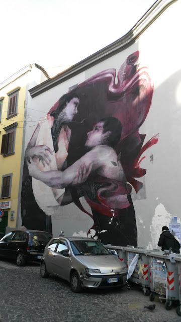 Murales Resis-ti-amo-Rione Sanità-Napoli