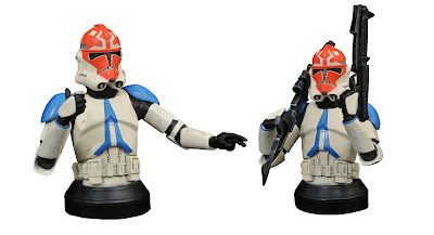Star Wars: The Clone Wars 332nd Battalion Clone Trooper Mini Bust by Gentle Giant