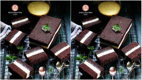 Resep Membuat Kue Kukus Lapis Cheese Super Moist dan Delicious by veronicadhani