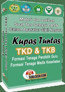 Download Soal Tes CPNS TKB Guru Terlengkap