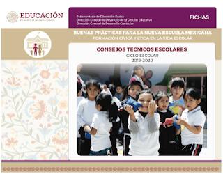 b) Formación Cívica y Ética en la Vida Escolar