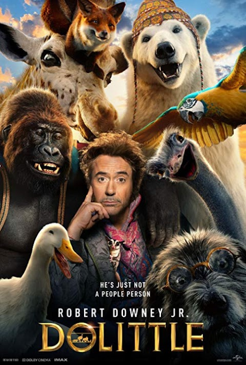 Download Dolittle (2020) HDRip 720p HQ Line [Tamil + Hindi + Eng]