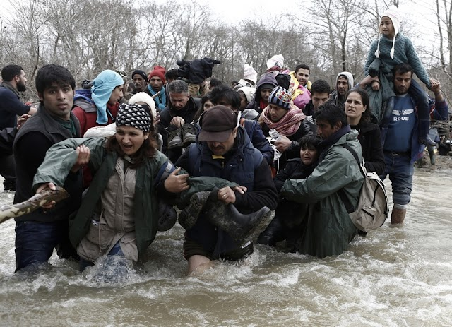 Macedonian Army sends back Migrants who entered illegally from Greece