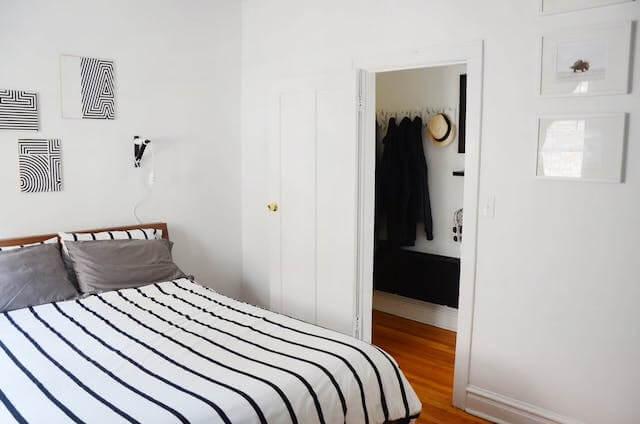 dormitorio casa de alquiler