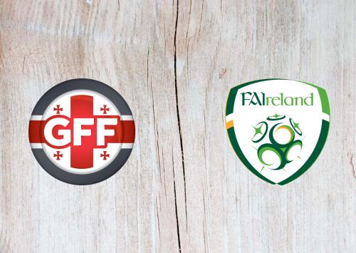 Georgia vs Republic of Ireland -Highlights 12 October 2019
