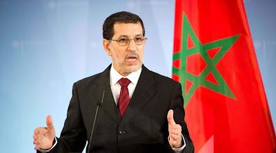 """رئيس الحكومة """"العثماني"""" يعلن رسميا موقف المغرب من """"صفقة القرن"""""""