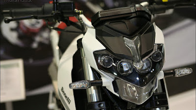 Benelli TNT 135 front view