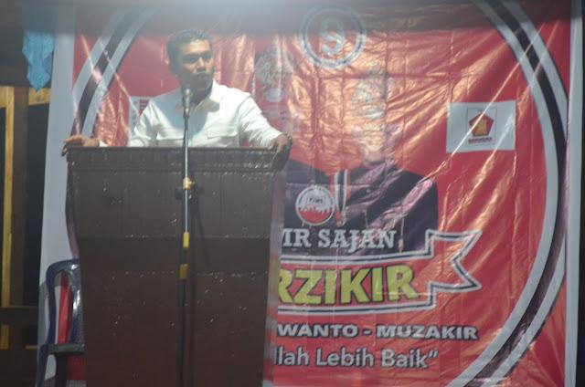 Partai Gerindra di Abdya Serius Menangkan Erwanto - Muzakir