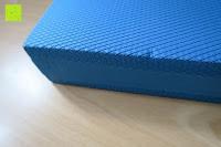 Kante: High Pulse Balance Pad – Die gelenkschonende Koordinationsmatte zum Training von Gleichgewicht und Stabilität sowie zur Therapie nach Muskelverletzungen (Blau)