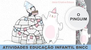 Atividade Educação Infantil BNCC para ensino remoto ou presencial arca de noé