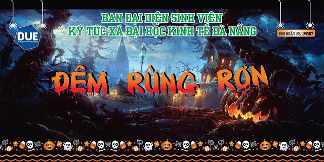 Đêm Halloween chào đón Tân Sinh viên - Ký Túc Xá Trường Đại Học Kinh Tế - Đại Học Đà Nẵng