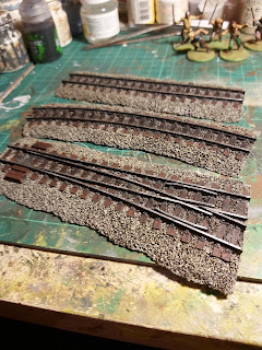 Railway tracks by Ironclad Miniatures