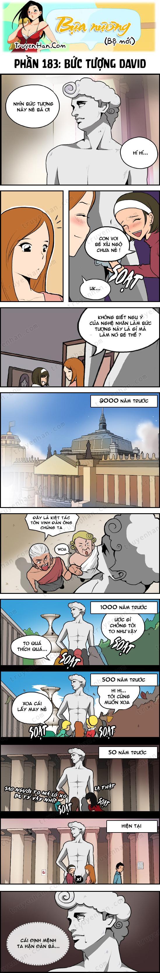Bựa nương (bộ mới) phần 183: Bức tượng David