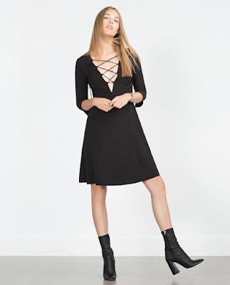 Robe décolletée Zara