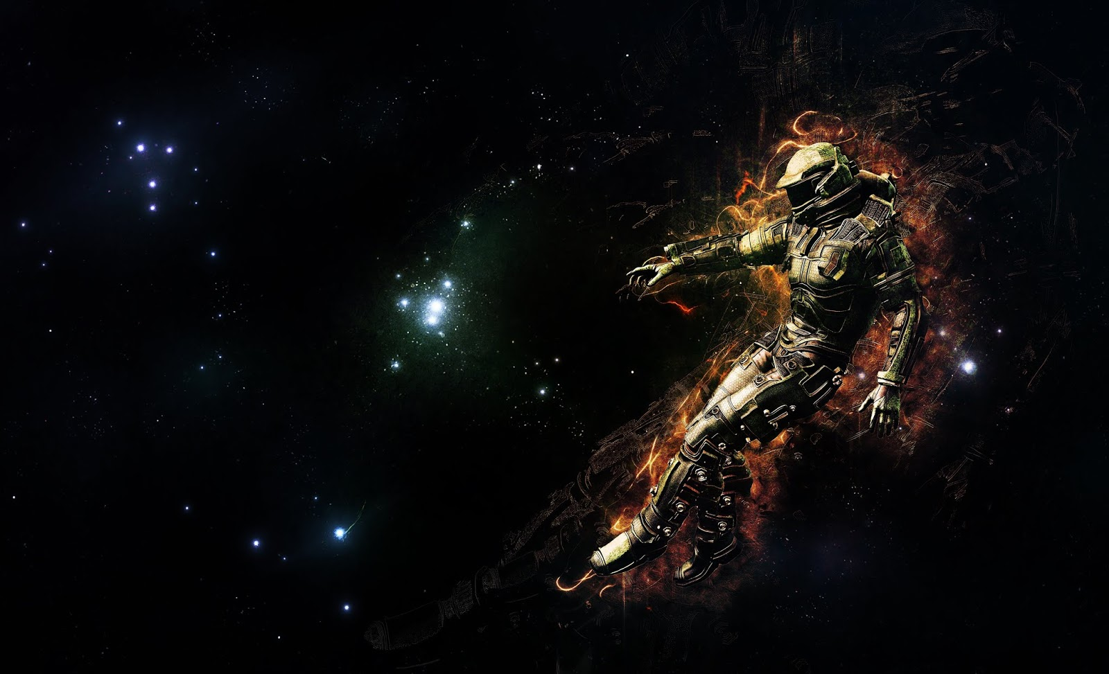 Astronaut, 4K, Creative Graphics, Space
