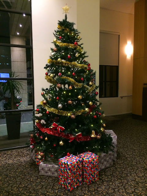 Melbourne Parkview Hotel Lobby Christmas Tree